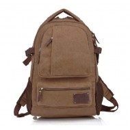 Canvas laptop bag, laptop backpack 14