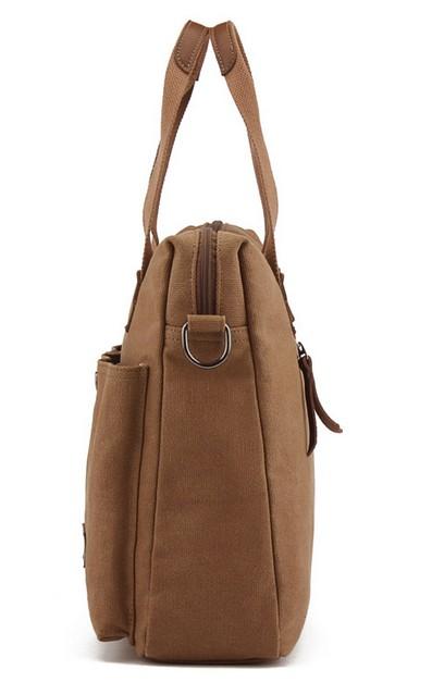 ... canvas shoulder bag; coffee Men messenger bag ...