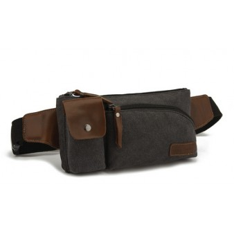 Canvas bumbag, canvas fanny pack