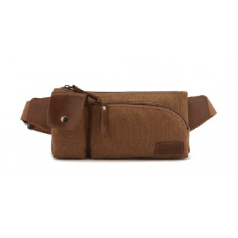 Canvas bumbag