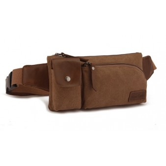 mens Canvas bumbag