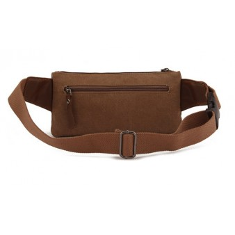 Canvas bumbag for men