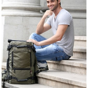 army green laptop mens rucksacks backpack