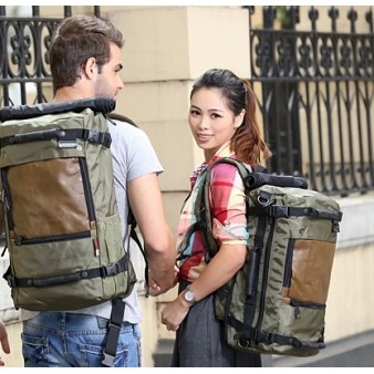 army green trendy laptop bag