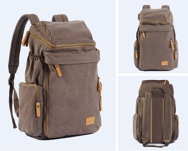 Coffee Rugged Backpack