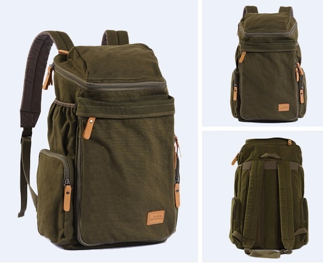 Rugged backpack, unique laptop bag - UnusualBag
