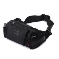 Lumbar waist pack, mens bike waist pack