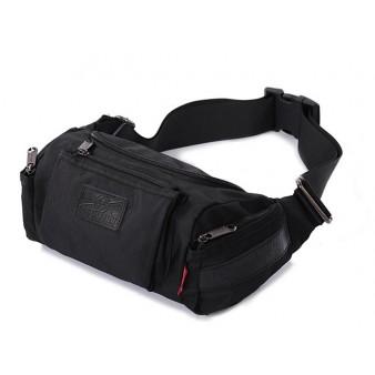 Lumbar waist pack, mens bike waist pack