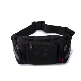 black Lumbar waist pack
