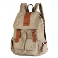 Canvas backpack purses for women