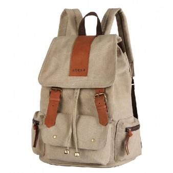 Canvas backpack purses for women, backpacks daypacks