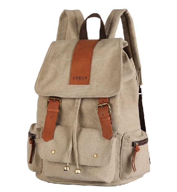 Canvas backpack purses for women, backpacks daypacks ...