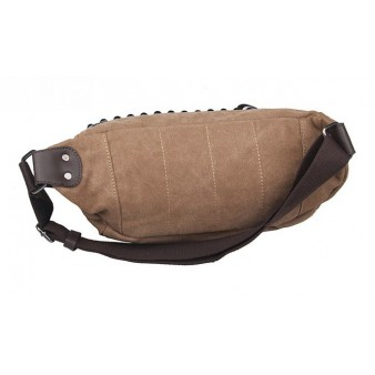 canvas fanny pack bag