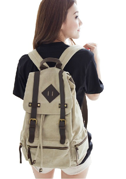 93926dcbb Large canvas rucksack, canvas backpacks for men - UnusualBag