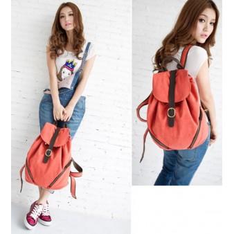 orange cheap backpack