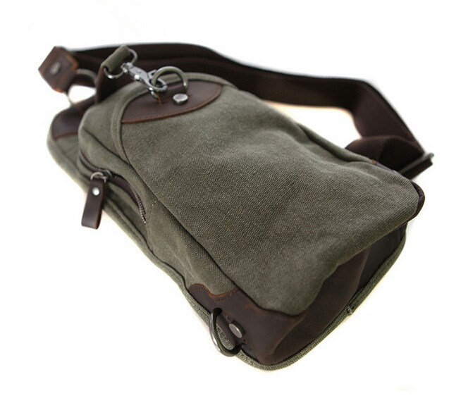 One Strap Backpack Over The Shoulder Purses Army Green