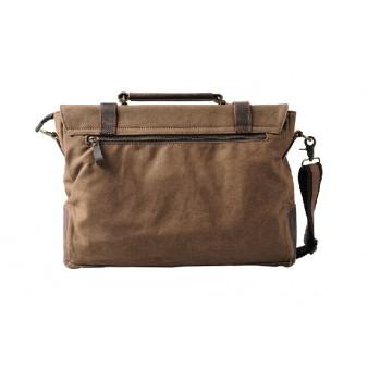 coffee Fabric shoulder bag