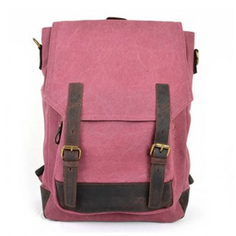 rose SCHOOL canvas backpack