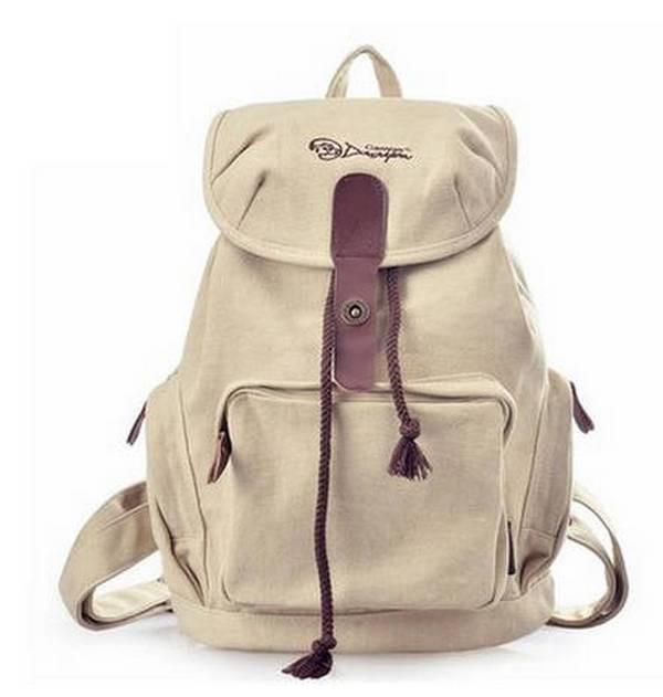 ... beige trendy backpack ... 96edb95b3b166