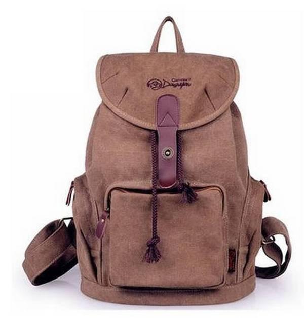 ... beige trendy backpack  coffee Backpacks for women 705d9e4b99baa