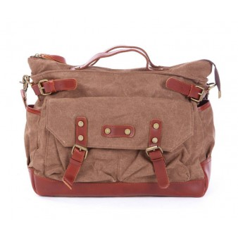 Multifunction Travel Bags, Practical Leather Canvas Bag