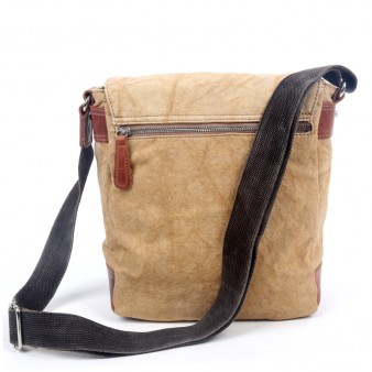 Rivets Genuine Leather Messenger Bags