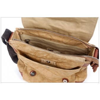 Gents Rivets Genuine Leather Messenger Bags