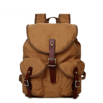 khaki Eco Friendly Girls Backpacks