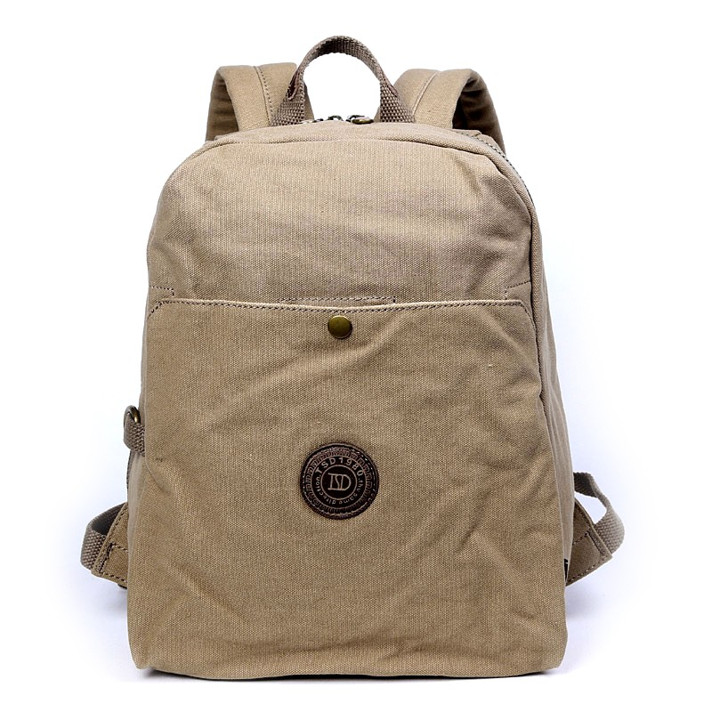 8c89ab43f21f Fashionable Rugged Canvas Backpacks  Canvas Computer Rucksack For Travel ...