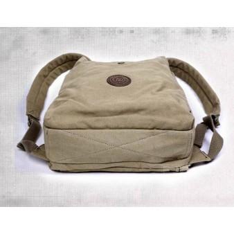khaki Rugged Canvas Backpacks