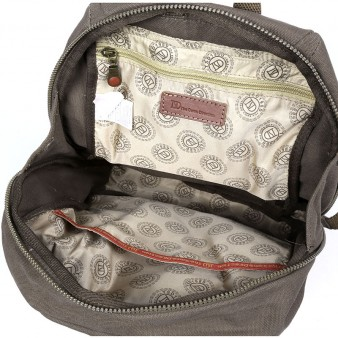 army green Canvas Computer Rucksack For Travel