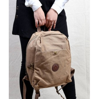 Fashionable Rugged Canvas Backpacks For Travel