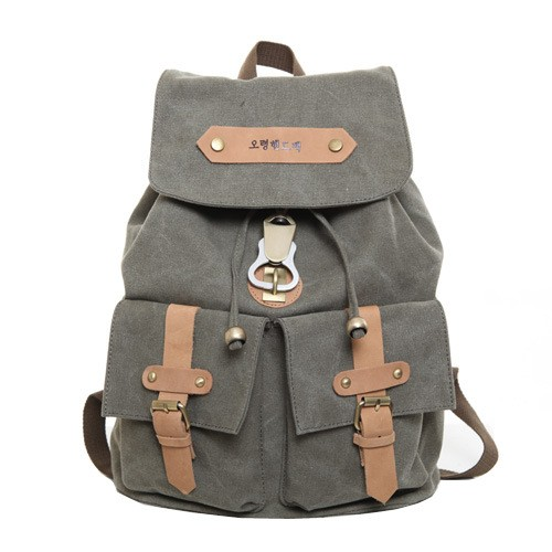 fcb02ae5490e ... canvas backpack for girls  orange bag backpacks  Khaki bag backpacks  army  green bag backpacks