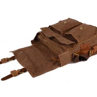 canvas cross body bag