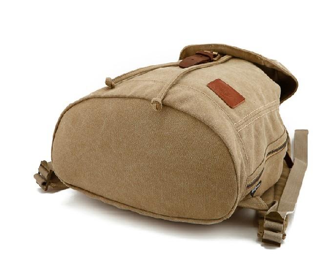 43ab390cc8 Daypack backpack  waterproof fashion backpack  khaki Daypack backpack ...
