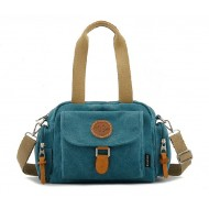 Messenger tote bag, recycled messenger bag