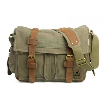 army green Cool messenger bags