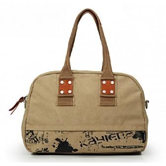 Ipad travel shoulder bag, water resistant unique handbag