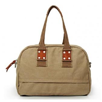 khaki Ipad travel shoulder bag