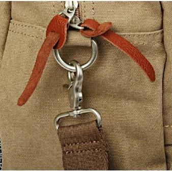 khaki water resistant unique handbag