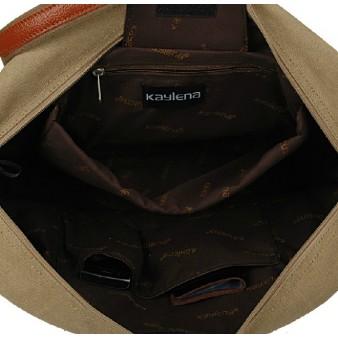 canvas Ipad travel shoulder bag