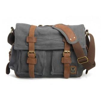 grey Cool messenger bags