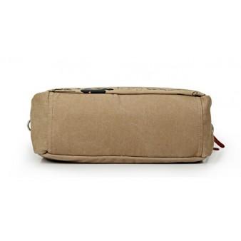Ipad travel shoulder bag canvas