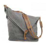 grey Cross body messenger bag