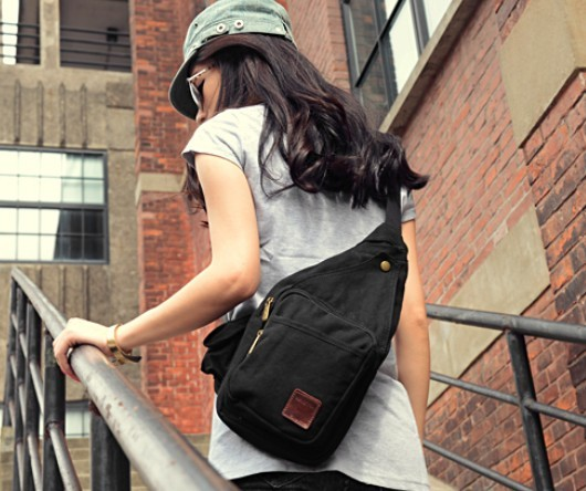 ... black Womens shoulder bags  black mens sling backpack ... c2a21d15ca