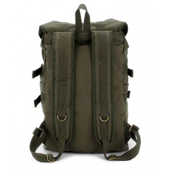 army green Laptop backpack