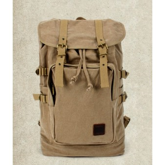 khaki Laptop backpack