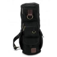 black Travel sling bag