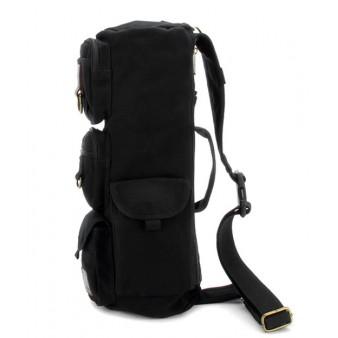 Travel sling bag black