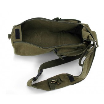 army green Travel sling bag